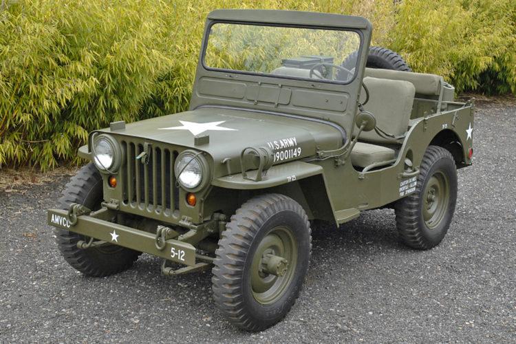 Военный Willys Jeep CJ2A