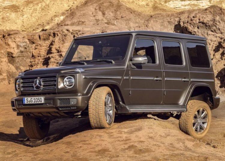 Mercedes G-Classв горах