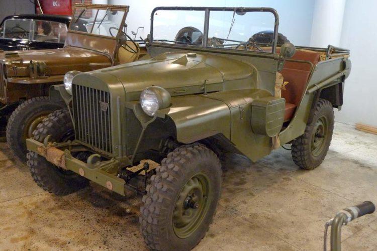 ГАЗ-64 на выставке