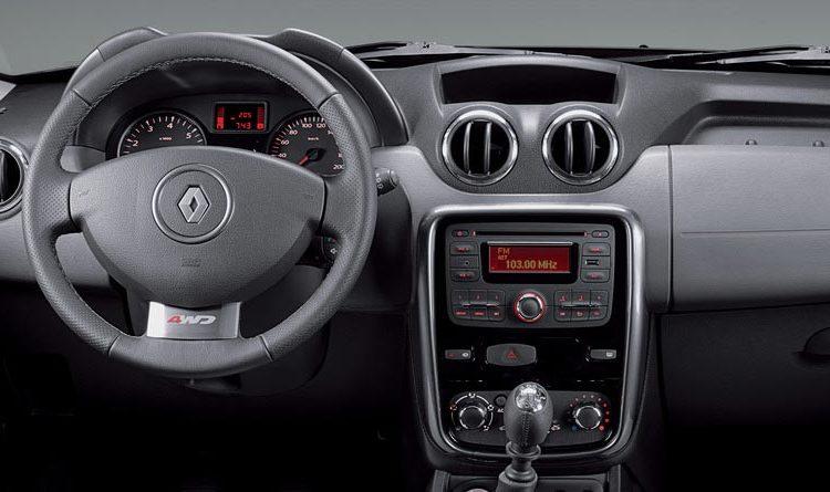 Салон Renault Duster-1