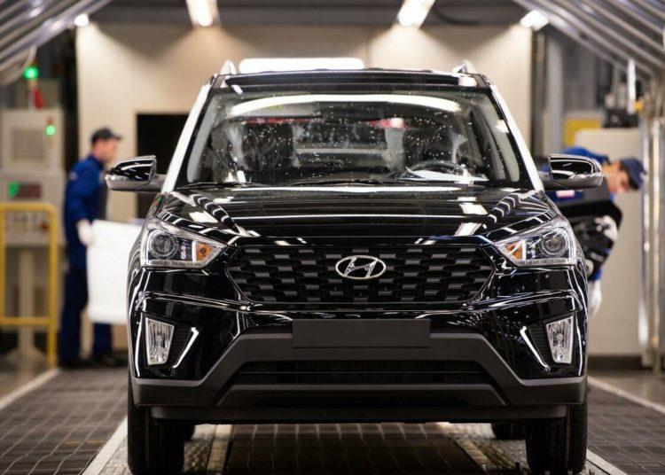 Авто Hyundai в салоне