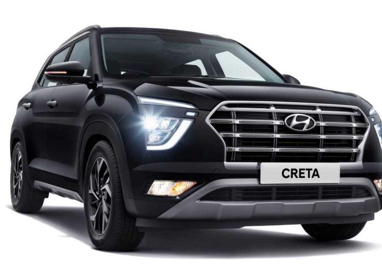 Черный Hyundai Greta