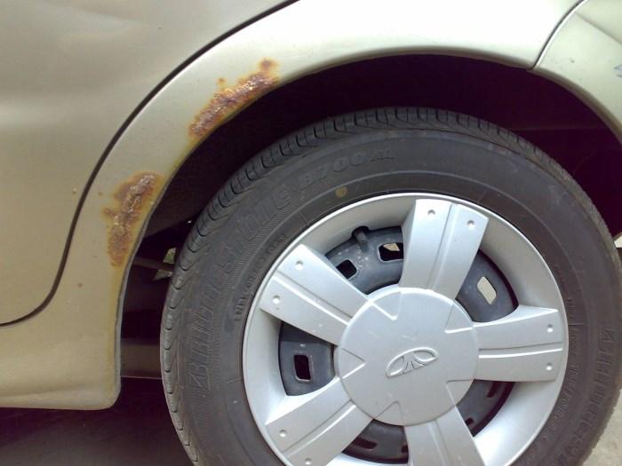 Ржвая арка авто